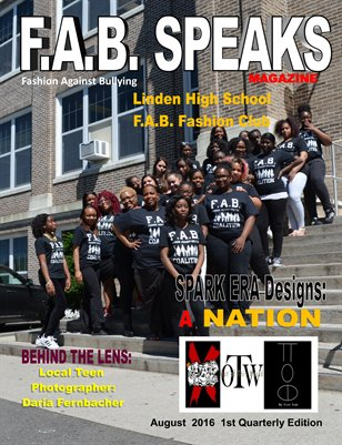 F.A.B. SPEAKS 1st Issue