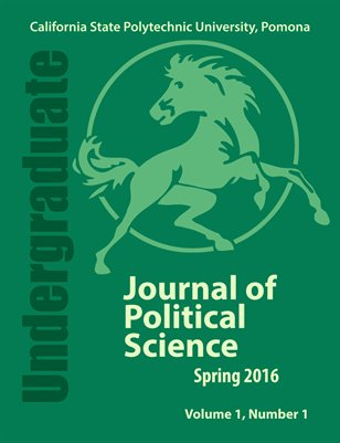 Undergraduate Journal of Political Science, Vol. 1 No.1
