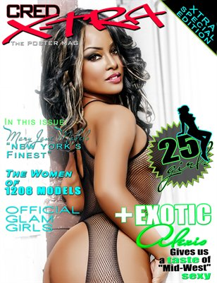 CREDXTRA - The Flavor Issue - Exotic Alexis & Mary Jane Models cover