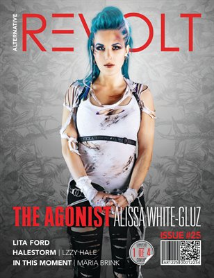 Alt Revolt Mag Issue 25.4 (Alissa White-Gluz | The Agonist) Limited Edition [1 of 4 covers]