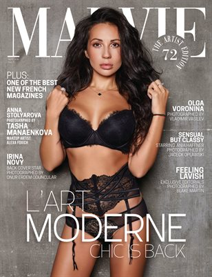 MALVIE Mag The Artist Edition Vol 72 November 2020