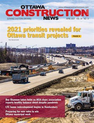 Ottawa Construction News (April 2021)