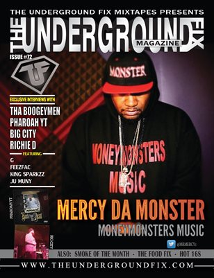 The Underground Fix Magazine Issue #72