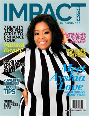 """Impact """"In Business"""" Magazine (NuLove Beauty Bar)"""