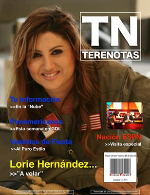 Lorie Hernandez... A volar