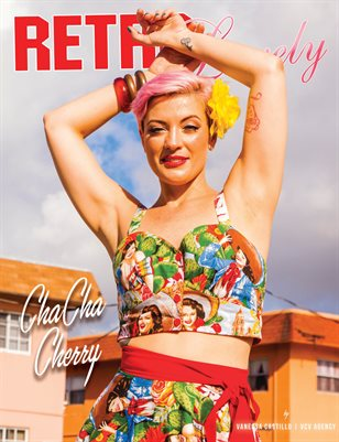 Retro Lovely No.96 – ChaCha Cherry Cover