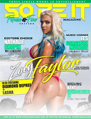 SO BE IT MAGAZINE ISSUE 47 (ZOEY TAYLOR)
