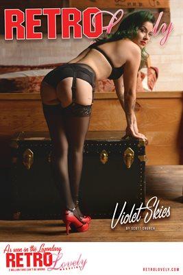 Violet Skies Cover Poster