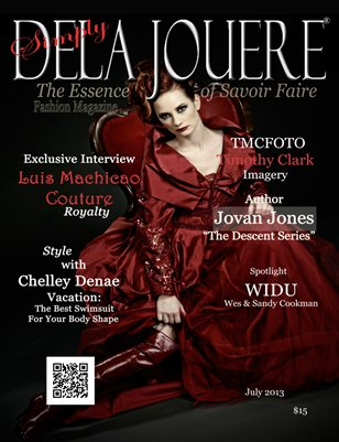 Simply Dela Jouere Fashion Magazine July 2013