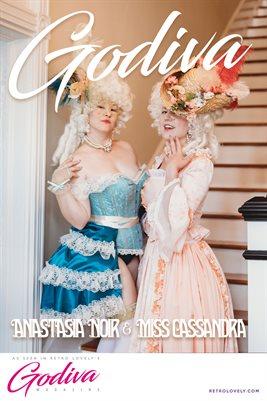 GODIVA No.13 – Miss Cassandra & Anastasia Noir  Cover Poster