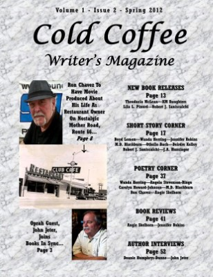 Cold Coffee Writer's Magazine - Spring 2012