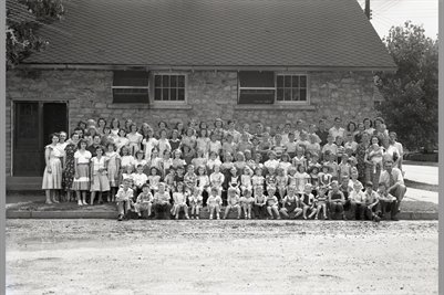 Broadway Baptist Vacation Bible School June 26 1950