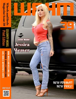 Wheels and Heels Magazine Issue 39 Jessica Weaver