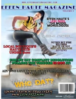 Effen Haute Magazine Vol. 2