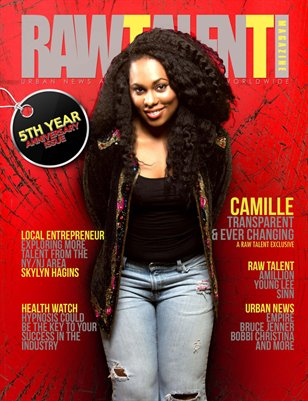 Raw Talent Magazine Issue #9