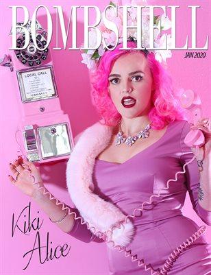 BOMBSHELL Magazine January 2020 - Kiki Alice Cover