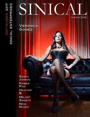 Sinical September 2017 - Veronica Gomez cover edition