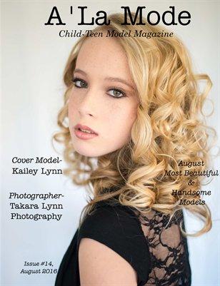 Issue # 14 A'La Mode Child-Teen Model Magazine