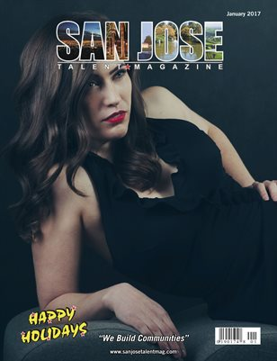 San Jose Talent Magazine January 2017 Edition