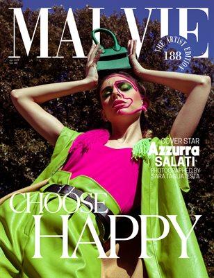 MALVIE Magazine The Artist Edition Vol 188 April 2021