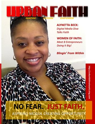 July 2014:  No Fear. Just Faith!