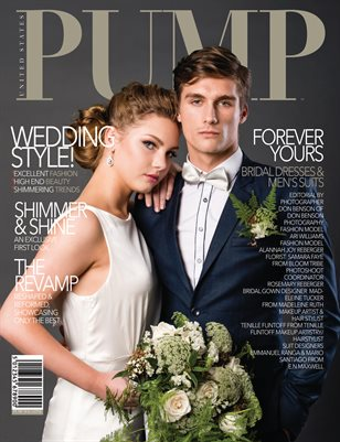 PUMP Magazine - The Bridal Edition - Vol. 1 - August 2018
