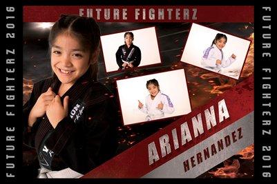 2016 Arianna Hernandez Cal - Poster
