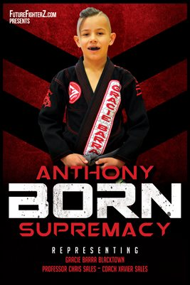 """Anthony """"Born Supermacy"""" Red Rum Poster"""