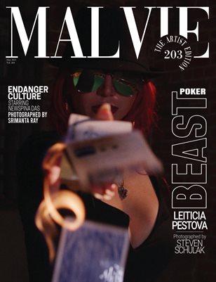 MALVIE Magazine The Artist Edition Vol 203 May 2021