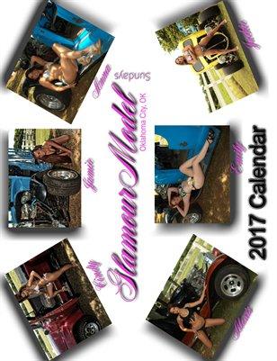 GlamourModelSundays Oklahoma 2017 Calendar