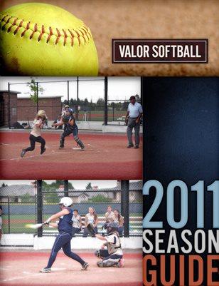 2011 Softball Media Guide