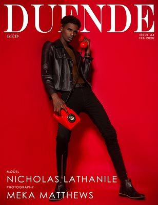 Duende Magazine_ Issue 34_Red