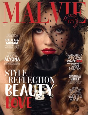 MALVIE Magazine The Artist Edition Vol 177 April 2021
