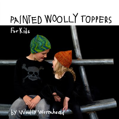 Painted Woolly Toppers for Kids