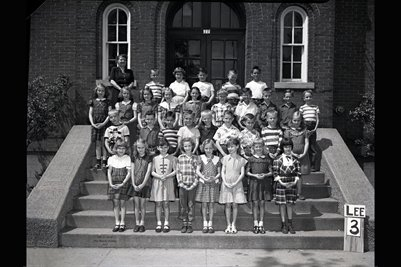 May 9, 1951 3rd Grade, Lee School