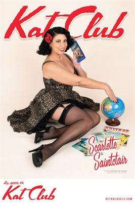 Kat Club No.19 – Scarlette Saintclair Cover Poster