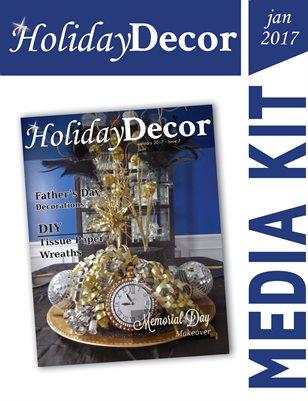 Holiday Decor Magazine Media Kit