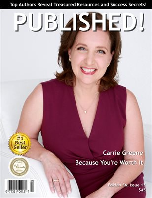 PUBLISHED! Magazine featuring Carrie Greene