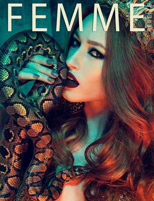 Femme Rebelle Magazine AUGUST - BOOK 2 Julian Kilsby Cover