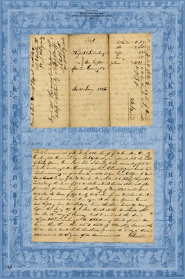 1842 Rupert & Lindenburger vs. Yemen & Smedley, McCracken County, Kentucky