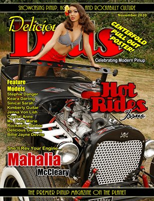 November 2020 Hot Rides Mahalia Cover