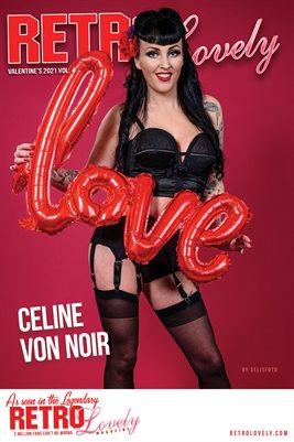 Celine von noir Cover Poster