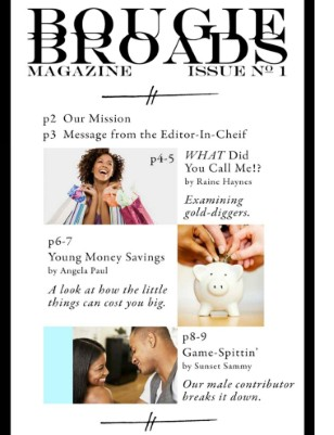 Bougie Broads Magazine - Inaugural Issue, Feb 2011