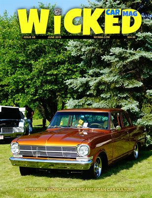 WICKED CAR MAG - JUNE - 1962 CHEVY NOVA