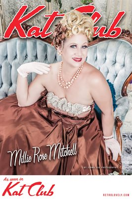 Kat Club No.31 – Millie Rose Mitchell Cover Poster