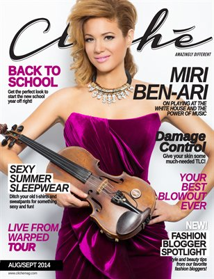 Cliché Magazine - Aug/Sept 2014 (Miri Ben-Ari Cover)
