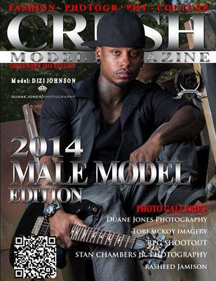 CRUSH MODEL MAGAZINE 2014 MALE MODEL EDITION