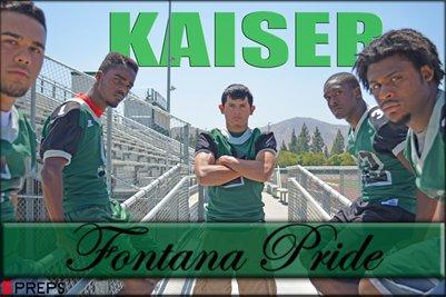 "Kaiser Football ""Fontana Pride"""