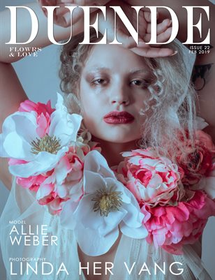 Duende Magazine_ Issue 22_Flowers and Love_ ALT Cover 2