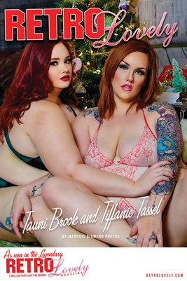 Tauni Brook and Tiffanie Nikole Cover Poster
